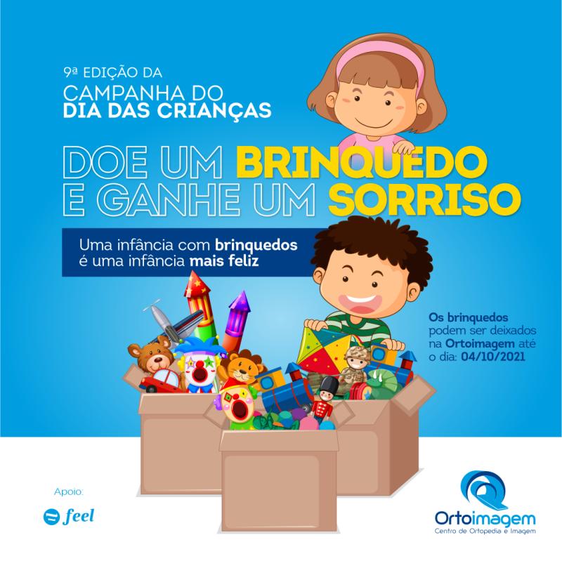 Ortoimagem lança 9ª edição da Campanha do Dia das Crianças