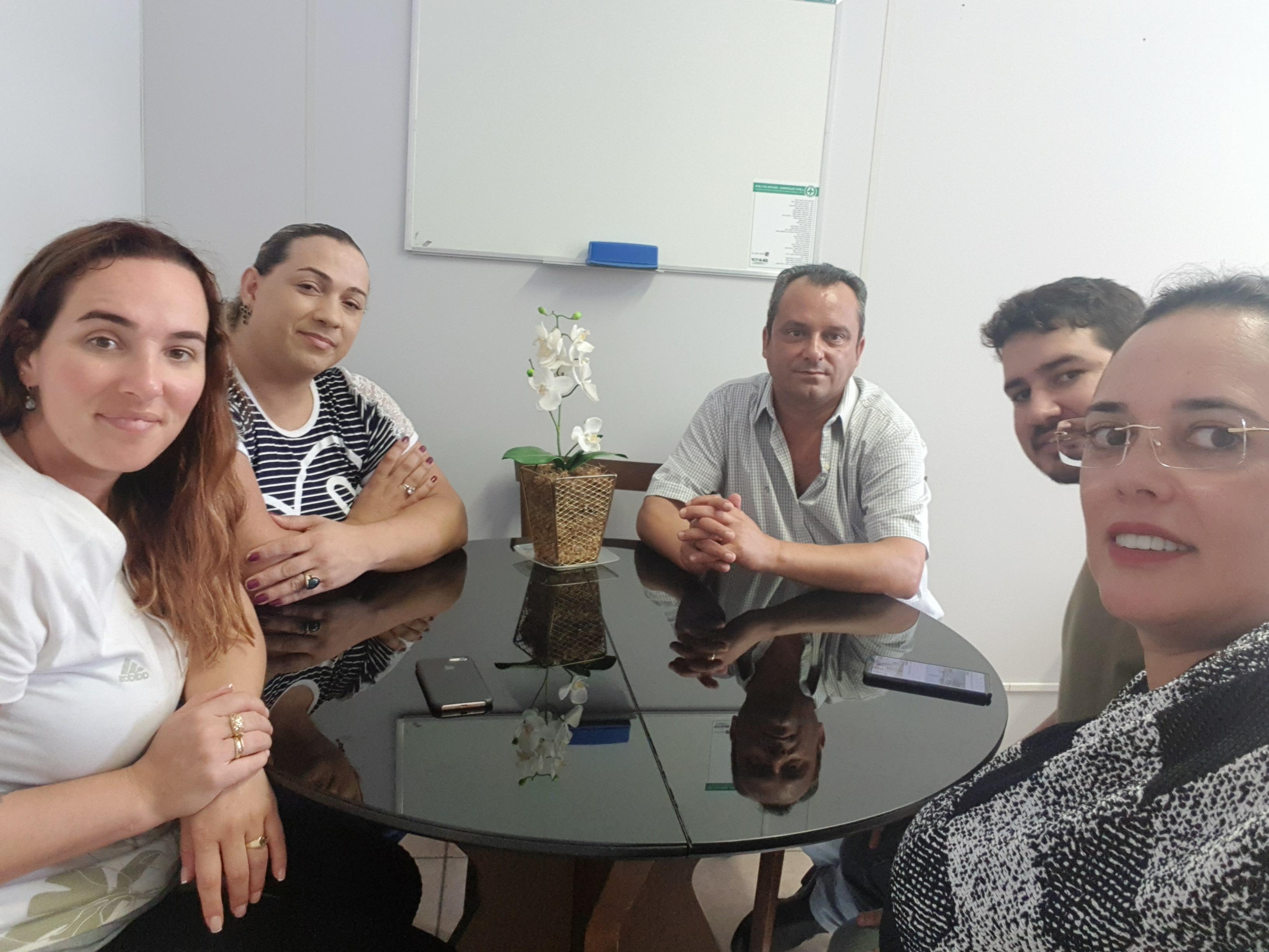 Visita à Câmara de Vereadores de Urussanga para apresentar o Portal PolíticoWeb
