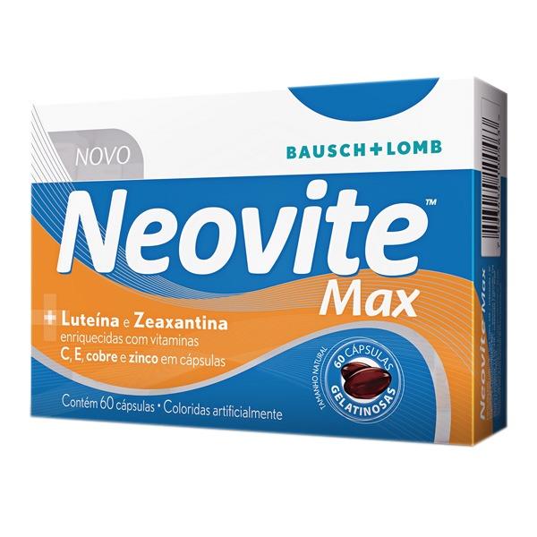 NEOVITE MAX COM 60 CÁPSULAS